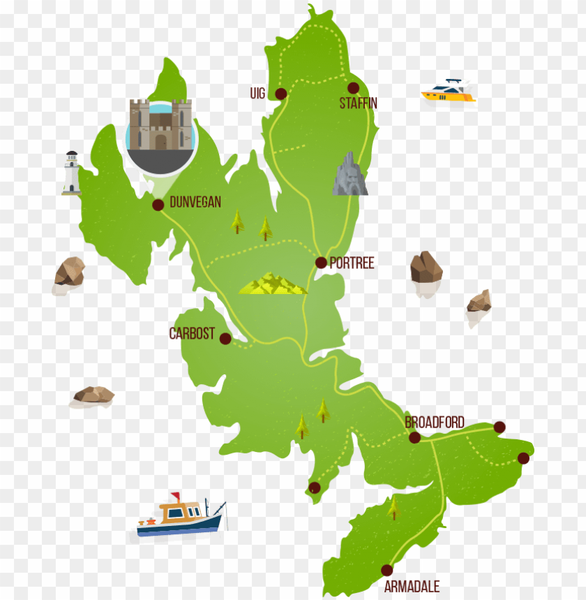 free PNG map of skye - ma PNG image with transparent background PNG images transparent