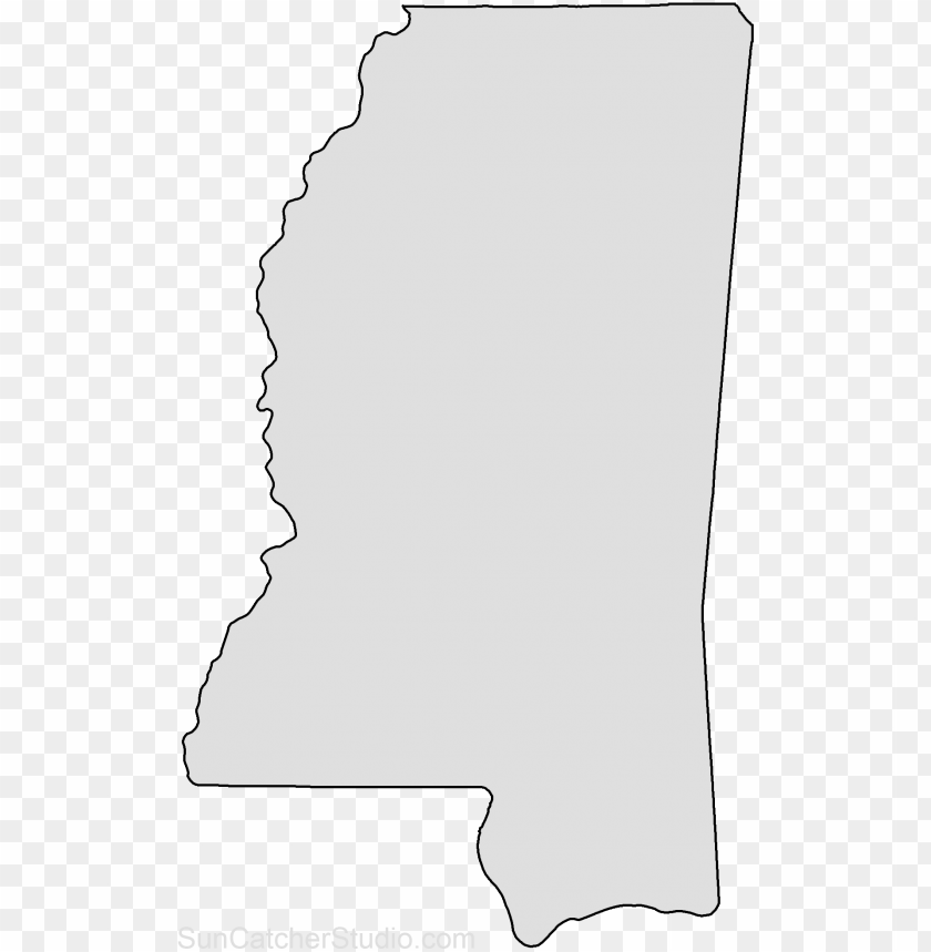 free PNG map outline, state outline, map puzzle, us states, - mississippi state shape transparent PNG image with transparent background PNG images transparent