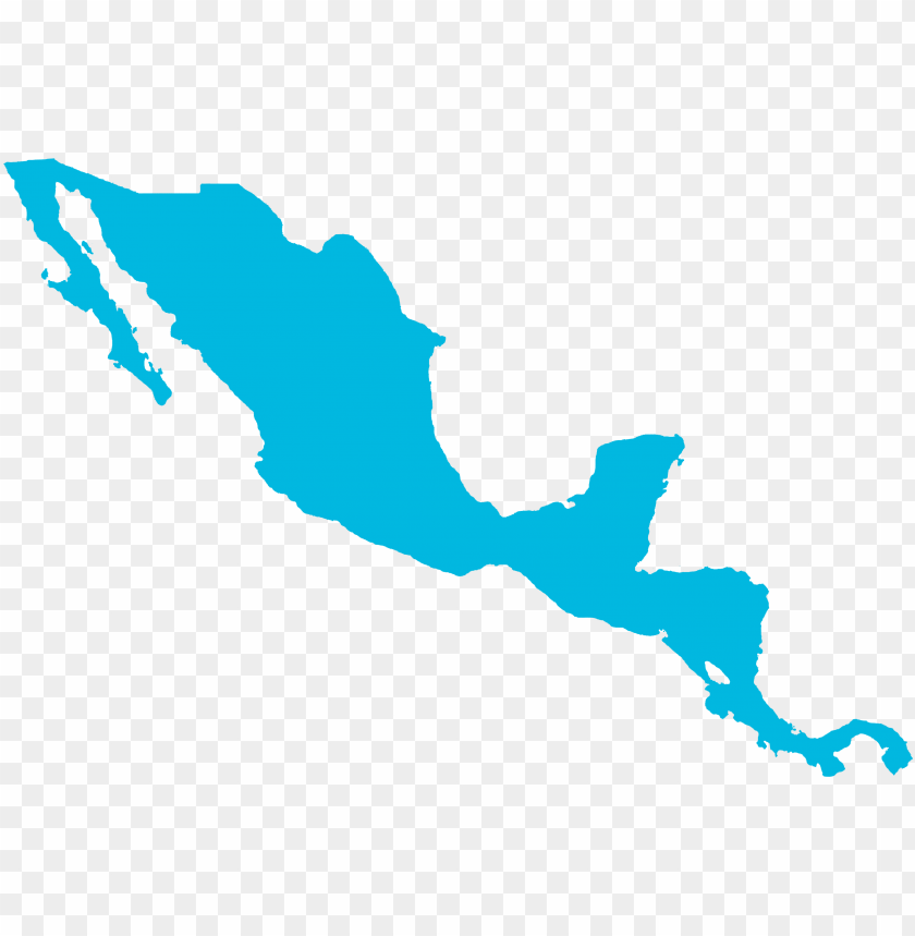 free PNG mapa centroamerica mexico - central america map colored PNG image with transparent background PNG images transparent