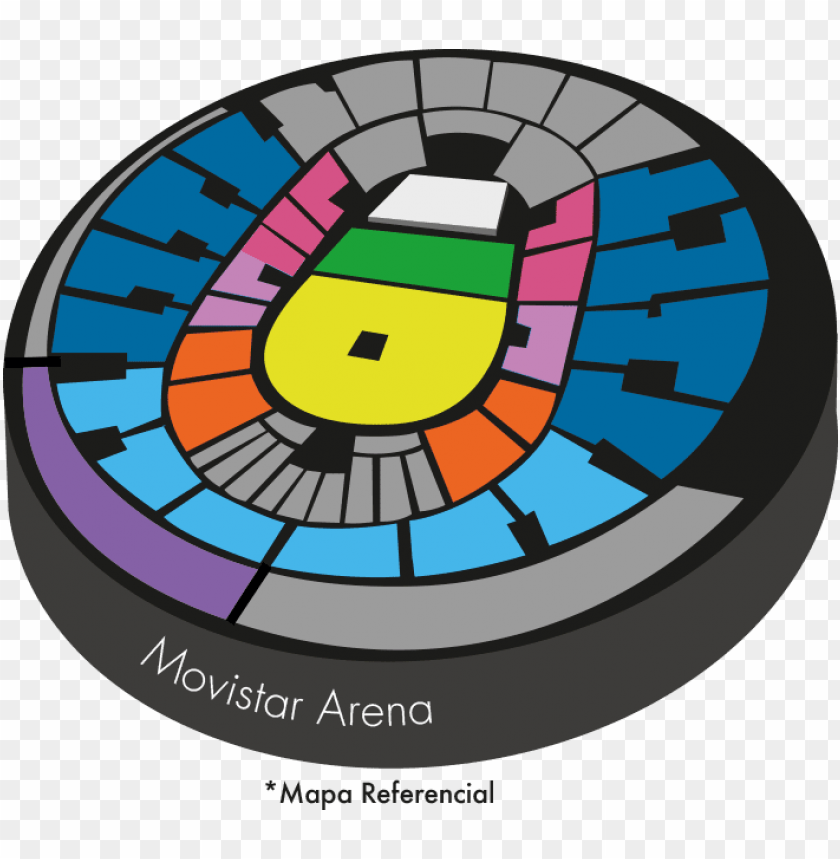 free PNG mapa daddy yankee movistar arena - psa tour fifth harmony PNG image with transparent background PNG images transparent