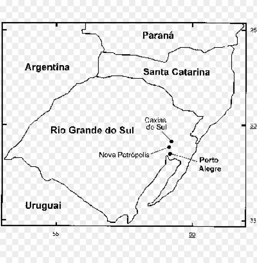 free PNG mapa de parte da região sul do brasil, assinalando - ma PNG image with transparent background PNG images transparent