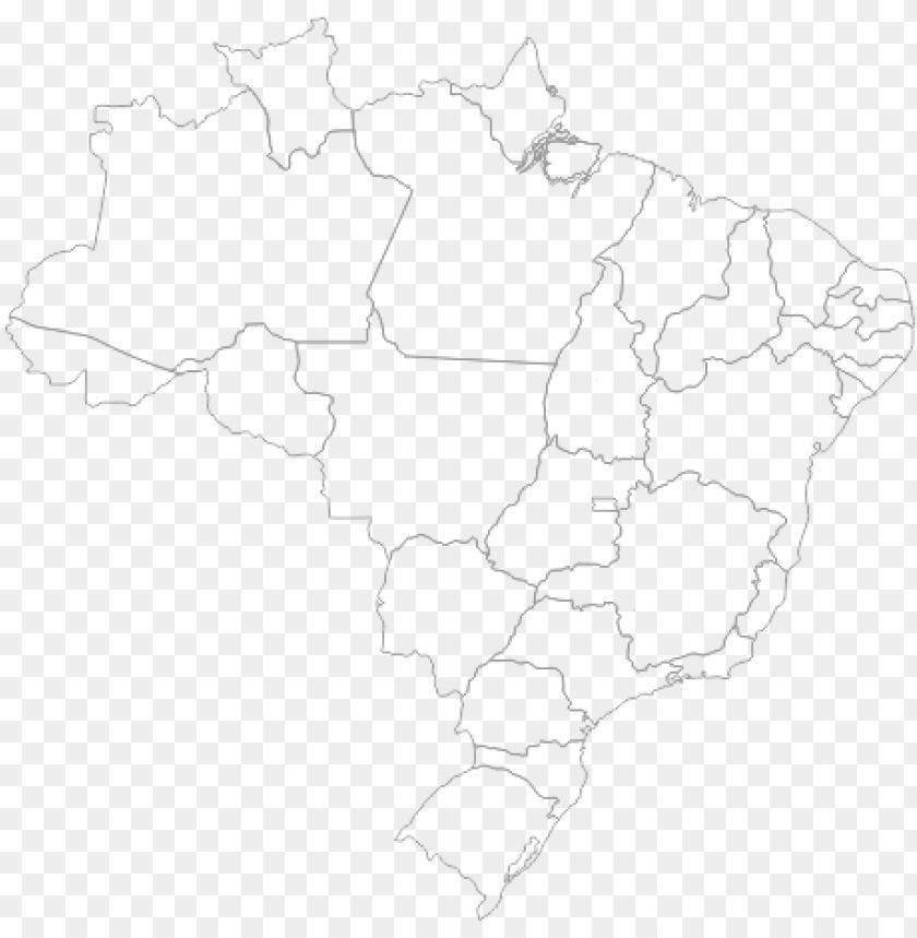 free PNG mapa do brasil - mapa brasil contorno PNG image with transparent background PNG images transparent
