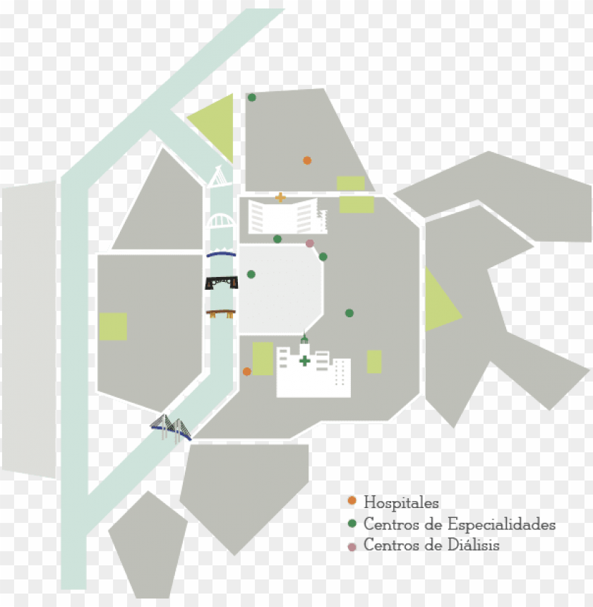 free PNG mapa - hospital virgen del rocio medicina nuclear PNG image with transparent background PNG images transparent