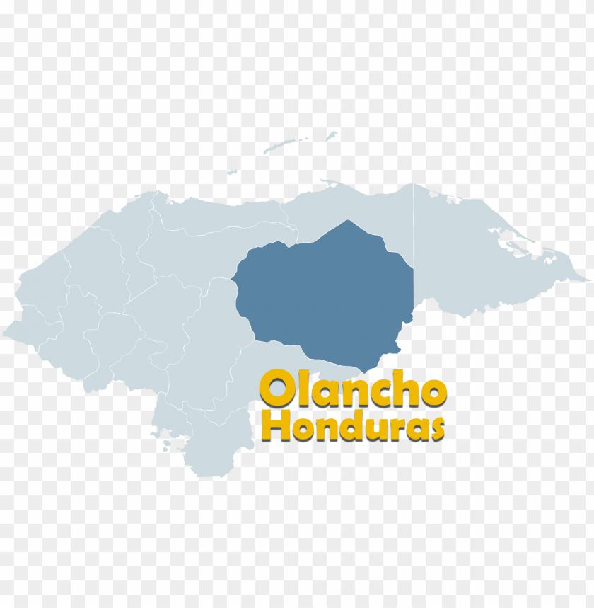 free PNG mapa político de honduras - olancho department PNG image with transparent background PNG images transparent
