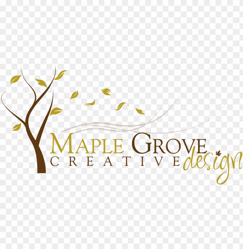 free PNG maple grove creative design - calligraphy PNG image with transparent background PNG images transparent