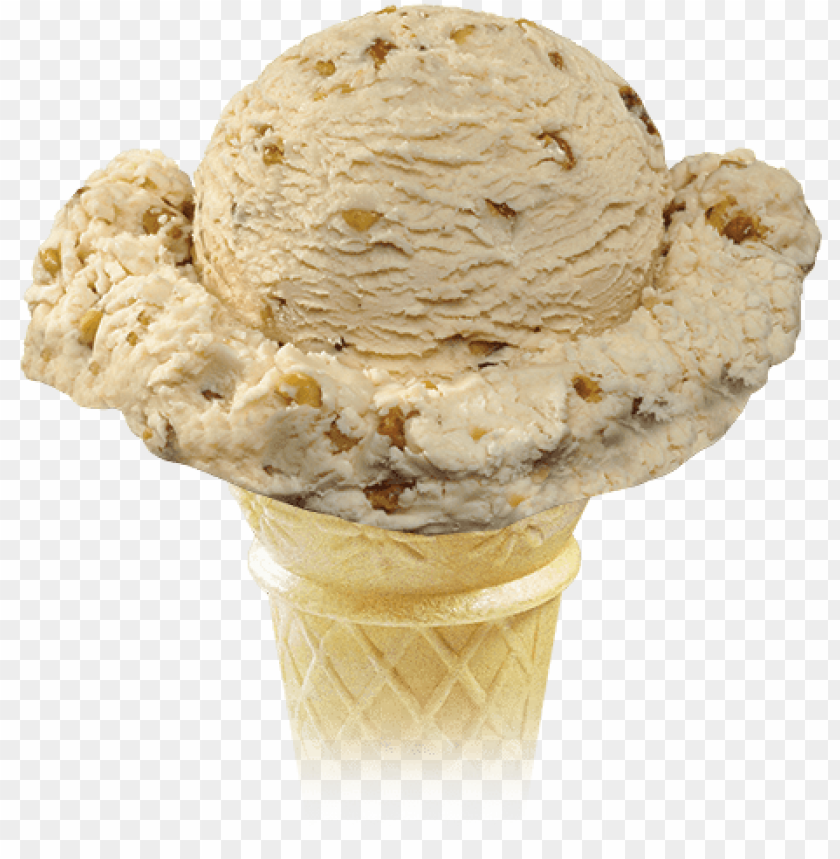 free PNG maple walnut, by the scoop, ice cream - maple walnut ice cream cone PNG image with transparent background PNG images transparent