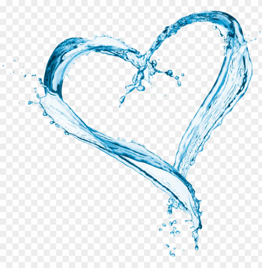 free PNG maple water is clear, light and refreshing - water splash heart PNG image with transparent background PNG images transparent