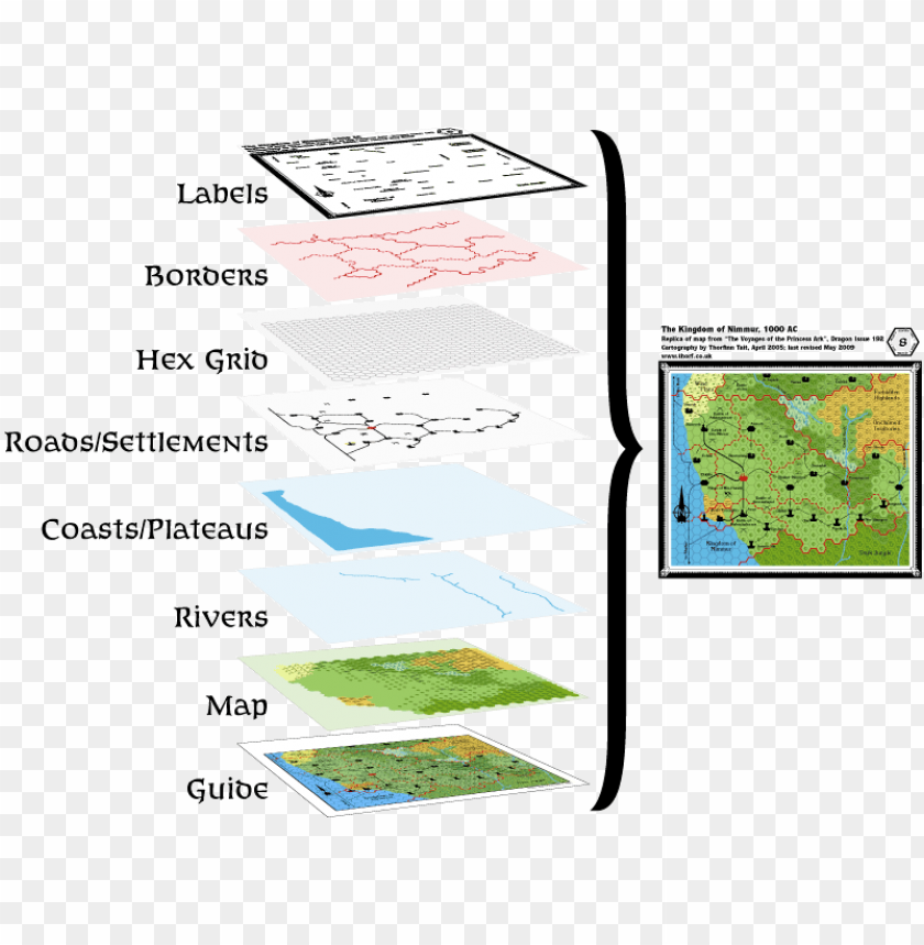 free PNG mapping tutorial - layers - transparent hex map layer PNG image with transparent background PNG images transparent
