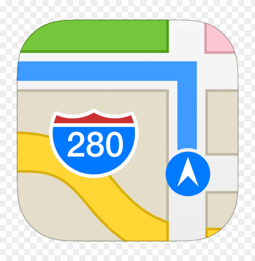 free PNG maps icon ios 7 png - Free PNG Images PNG images transparent