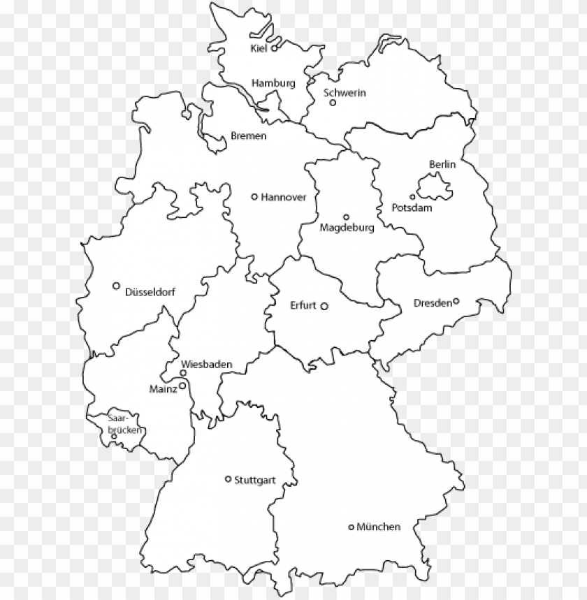 free PNG maps,technology - germany map vector PNG image with transparent background PNG images transparent