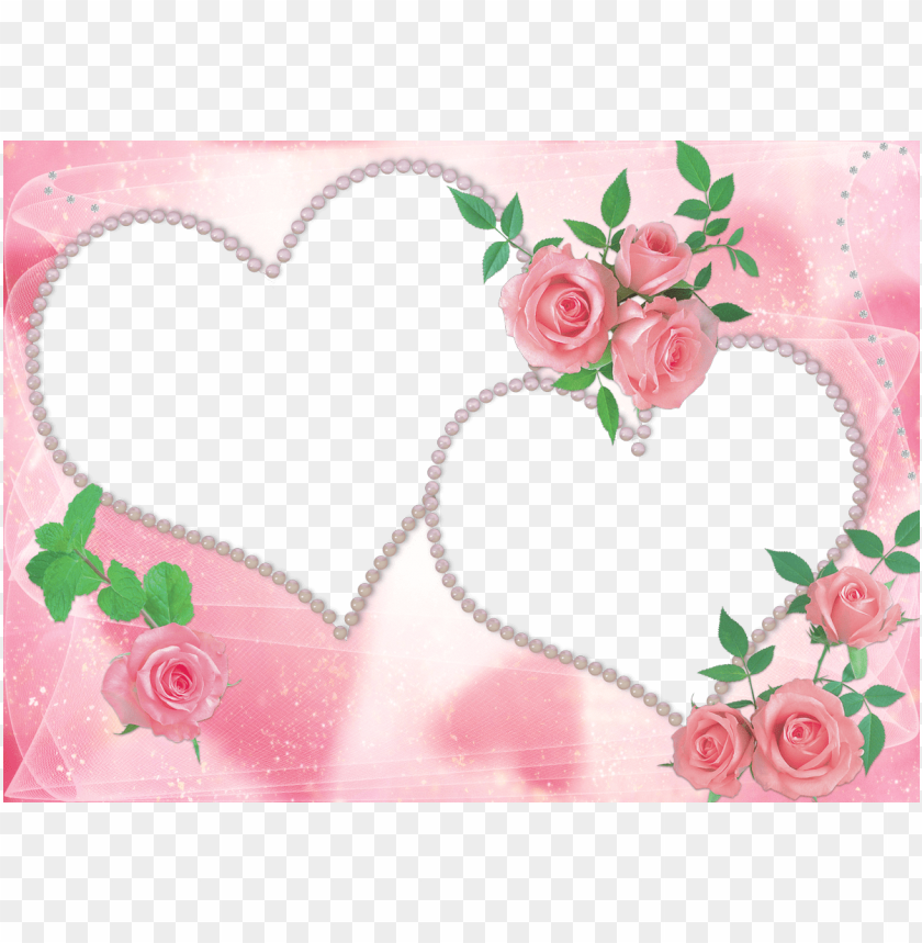 free PNG marco para enamorados flowers gif, old letters, floral - marcos para fotos de amor para dos personas para editar PNG image with transparent background PNG images transparent