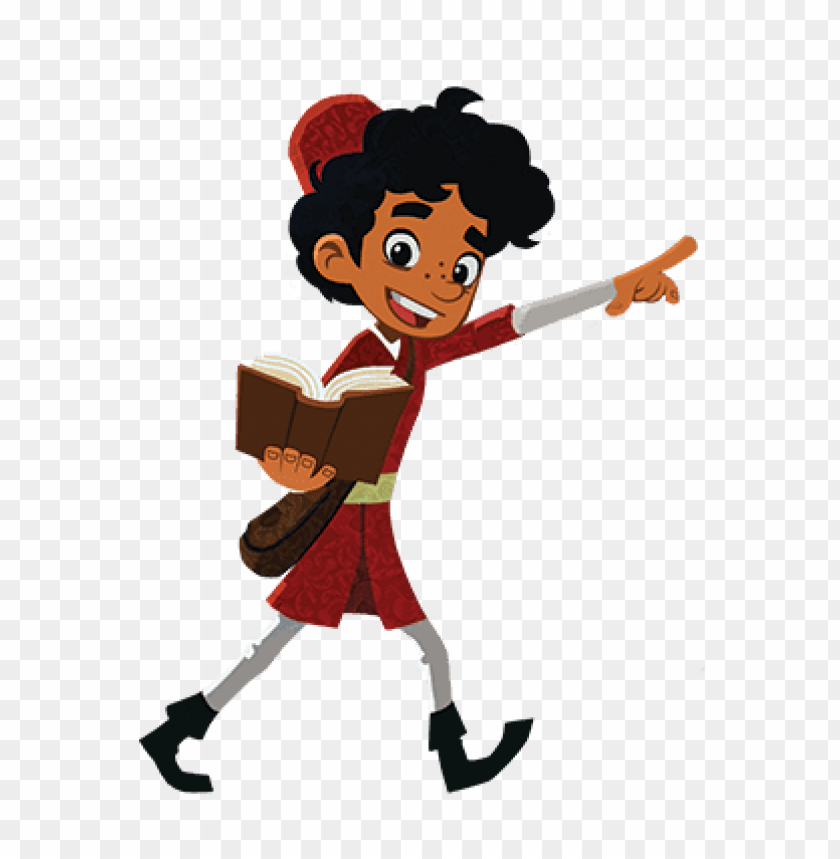 free PNG Download marco polo holding a book cartoon clipart png photo   PNG images transparent