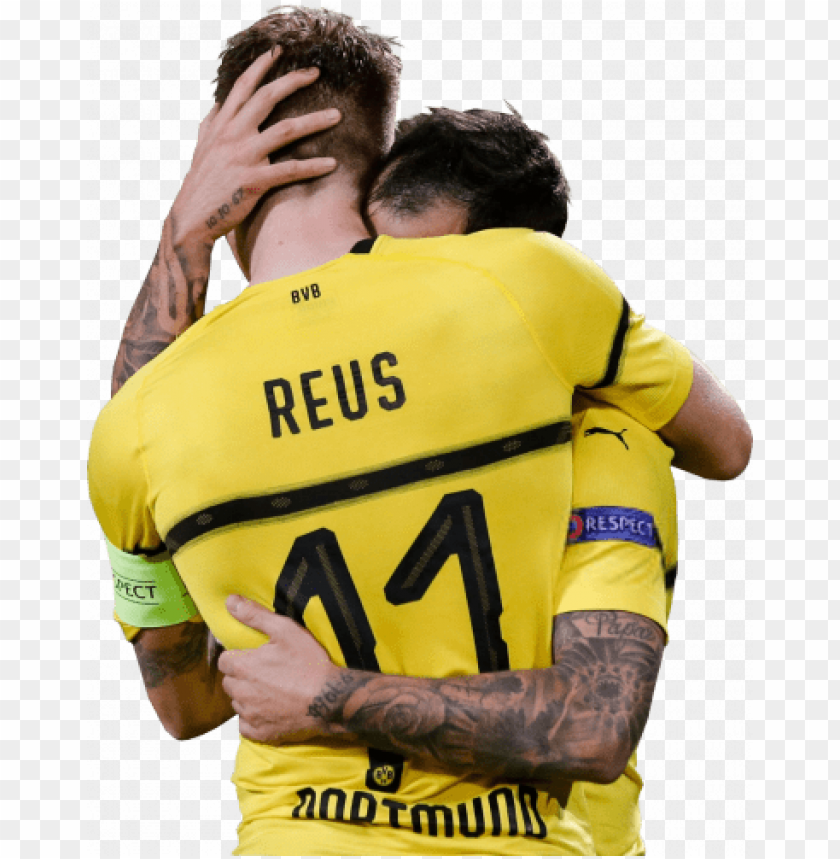 free PNG Download marco reus & paco alcacer png images background PNG images transparent
