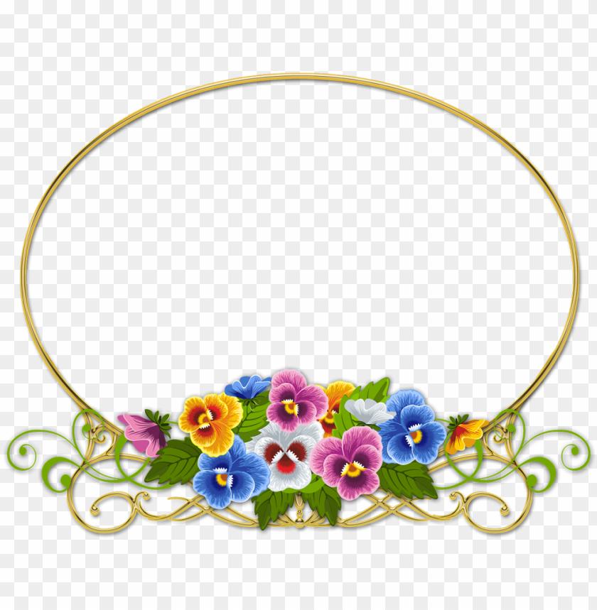 free PNG marcos de flores para descargar en formato png - circulo vintage flores PNG image with transparent background PNG images transparent