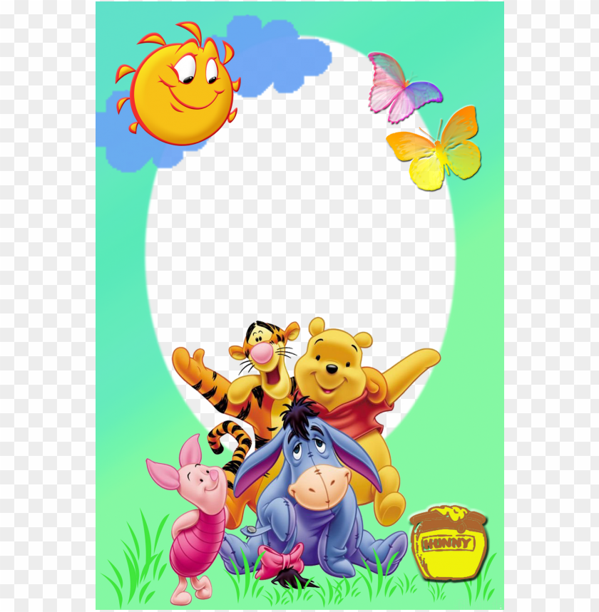 free PNG marcos gratis para fotos - winnie the pooh high resolutio PNG image with transparent background PNG images transparent