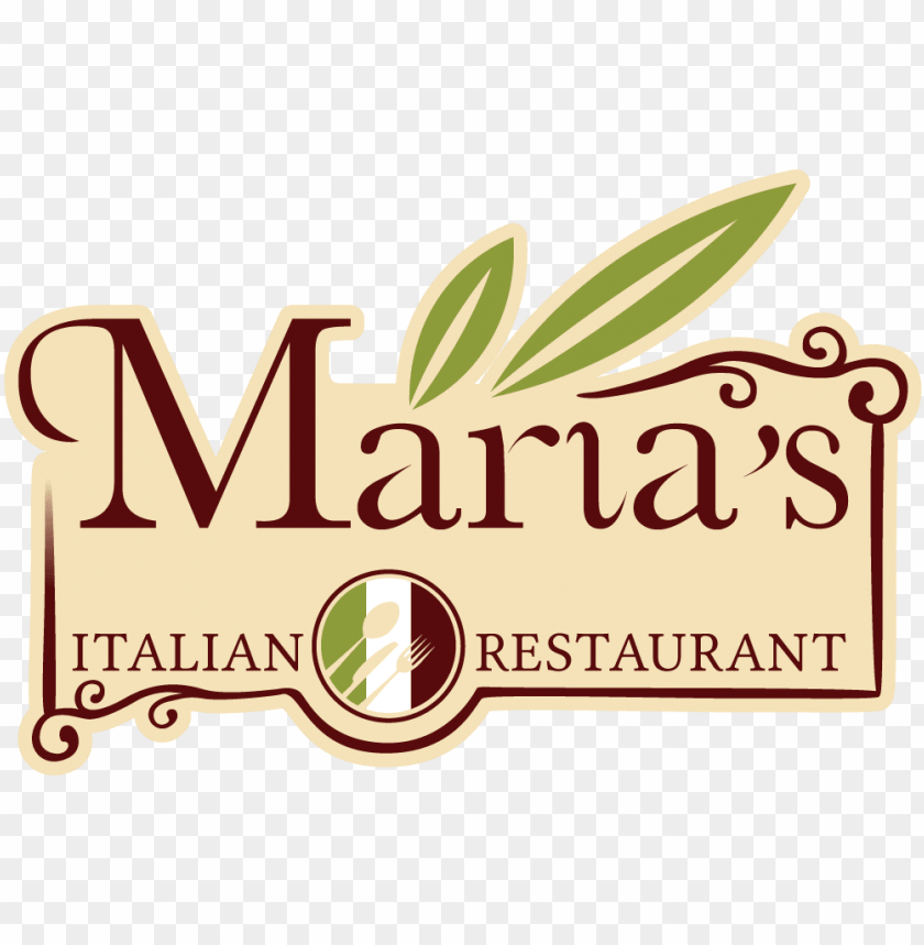 free PNG maria's italian restaurant - italian restaurant logo PNG image with transparent background PNG images transparent