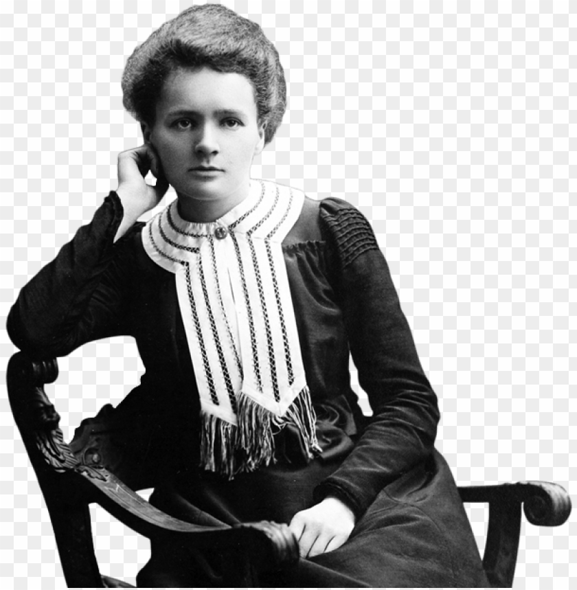 free PNG marie curie sitting - marie curie with no background PNG image with transparent background PNG images transparent