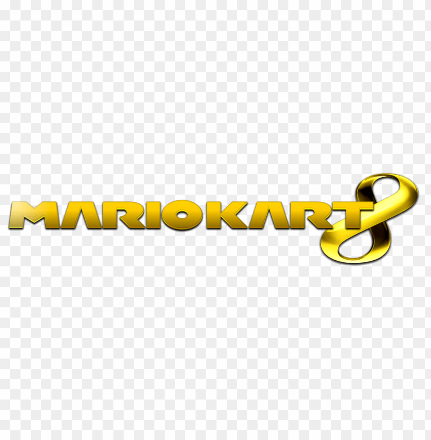 Mario Kart 8 Logo Png Image With Transparent Background Toppng