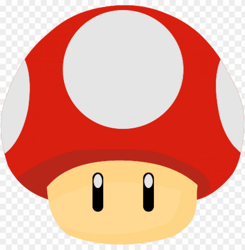 Mario Mushroom Free Png Image Super Mario Mushroom Png Image