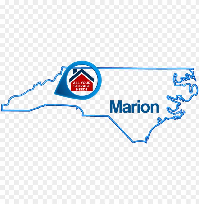 free PNG marion-map - north carolina PNG image with transparent background PNG images transparent