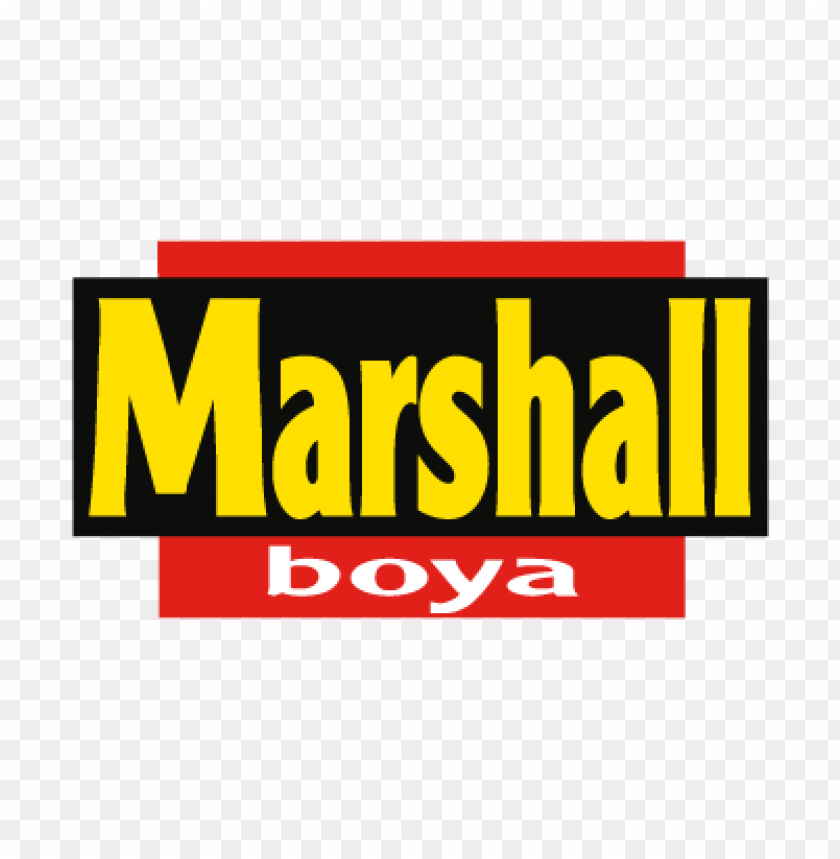 Marshall Boya Vector Logo Download Free Toppng