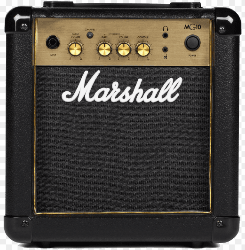 free PNG marshall mg gold mg10g guitar amp 10w PNG image with transparent background PNG images transparent