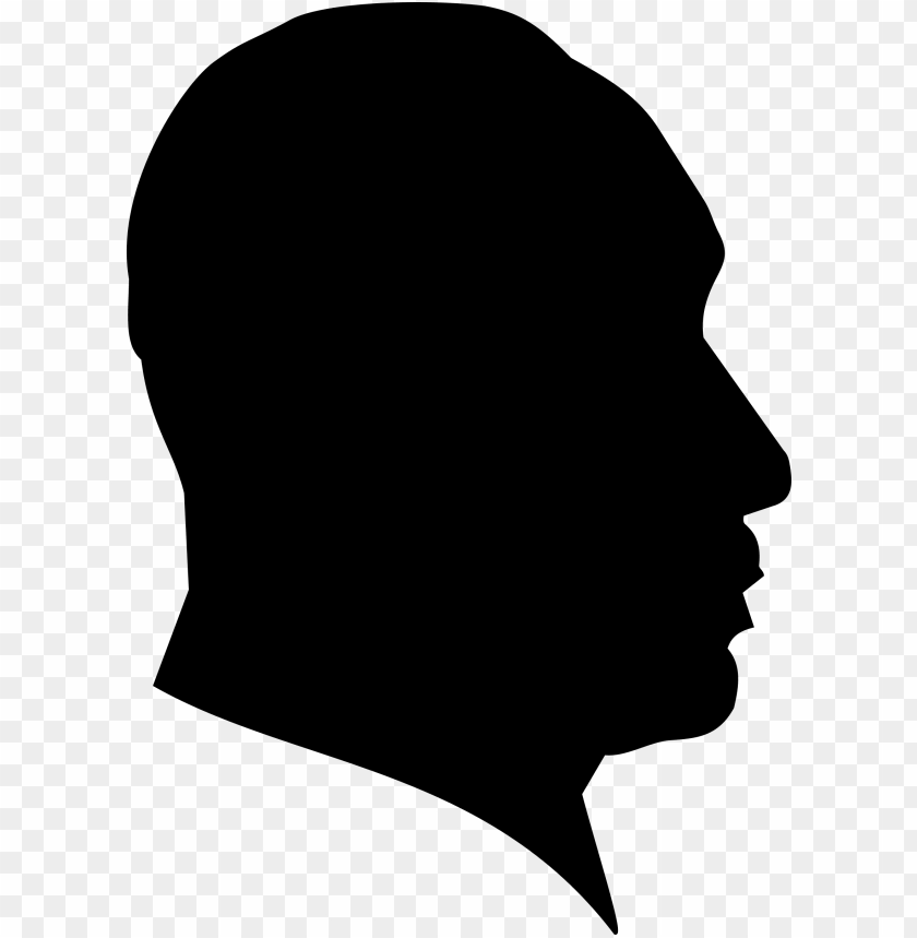 free PNG martin luther king's silhouette public domain vectors - silhouette of martin luther king jr PNG image with transparent background PNG images transparent
