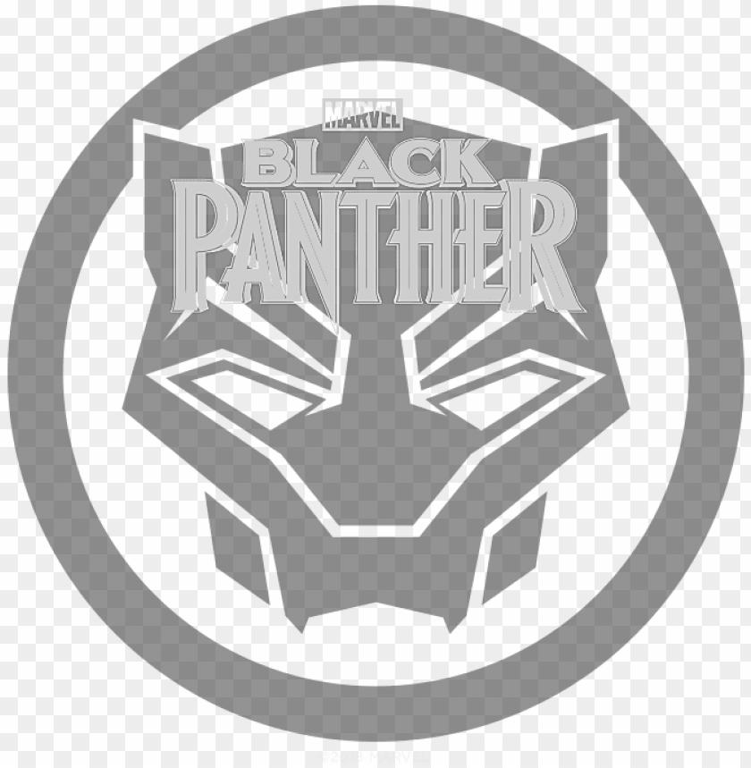 free PNG marvel black panther logo png - black panther logo PNG image with transparent background PNG images transparent
