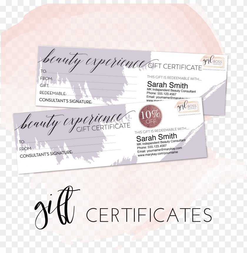 free PNG mary kay beauty experience editable gift certificates - mary kay beauty experience package PNG image with transparent background PNG images transparent