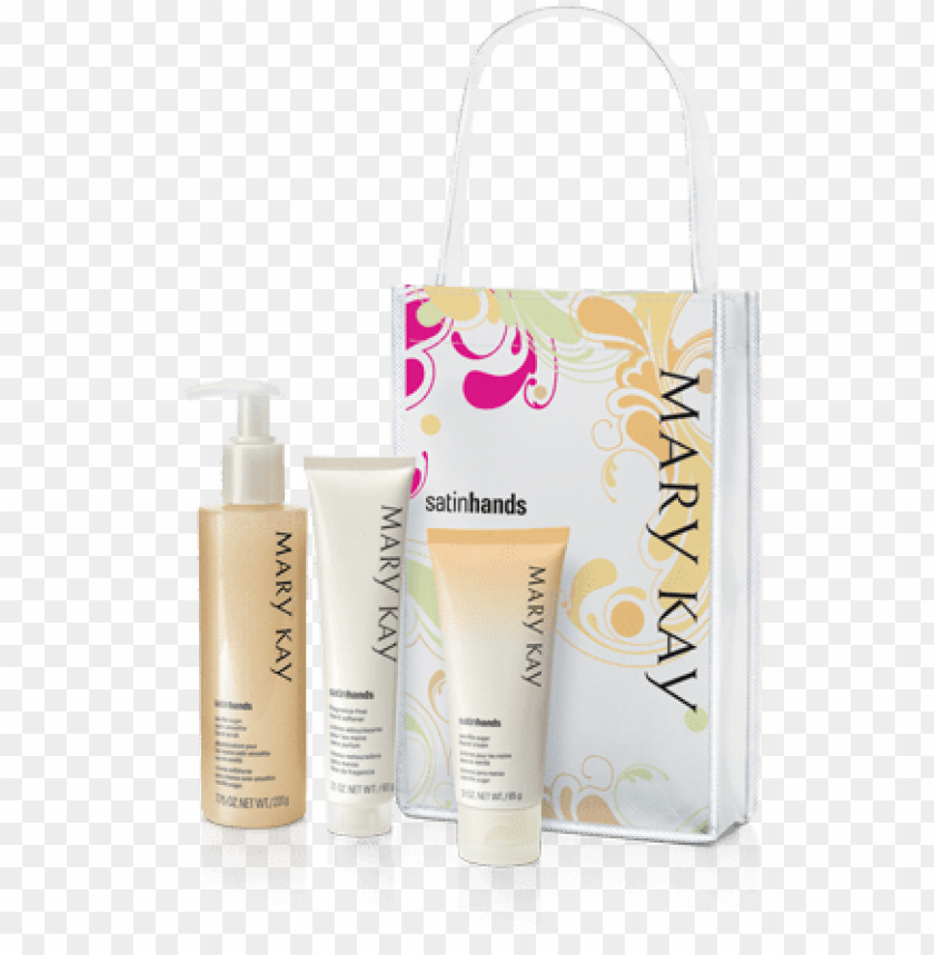 free PNG mary kay satin hands pampering set ~ peach PNG image with transparent background PNG images transparent