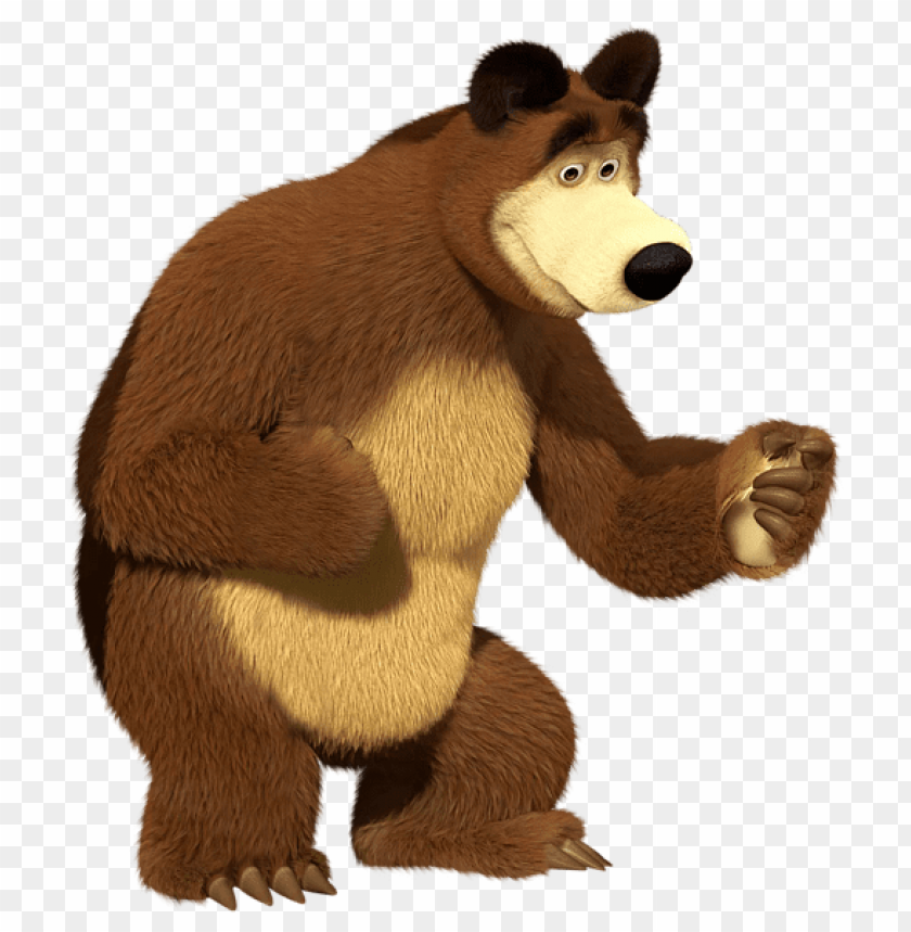free PNG Download masha and the bear bear transparent clipart png photo   PNG images transparent