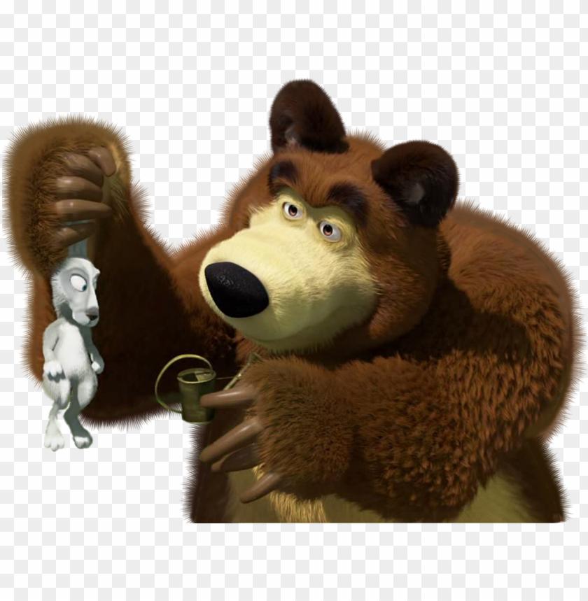 free PNG masha and the bear transparent png clip - masha and the bear PNG image with transparent background PNG images transparent
