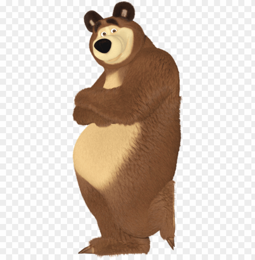 free PNG masha bear png - masha and the bear bear PNG image with transparent background PNG images transparent