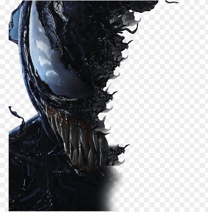 Mask Picsartallpng Com Picsart Venom Movie Poster Png