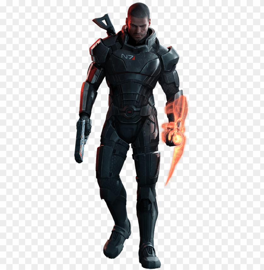 free PNG mass effect 3 shepard render 4 by - mass effect female shepard armor PNG image with transparent background PNG images transparent