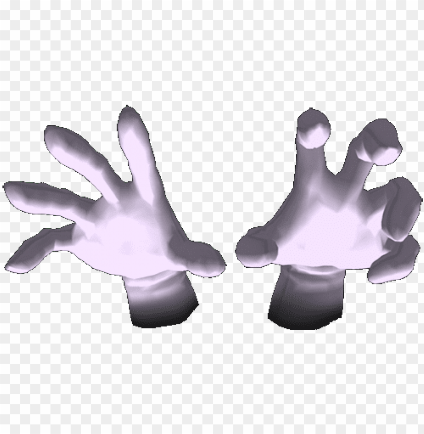 master hand and crazy hand PNG image with transparent background@toppng.com