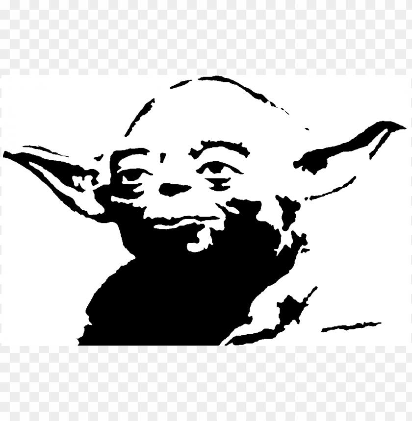 free PNG Download master yoda yoda black clipart png photo   PNG images transparent