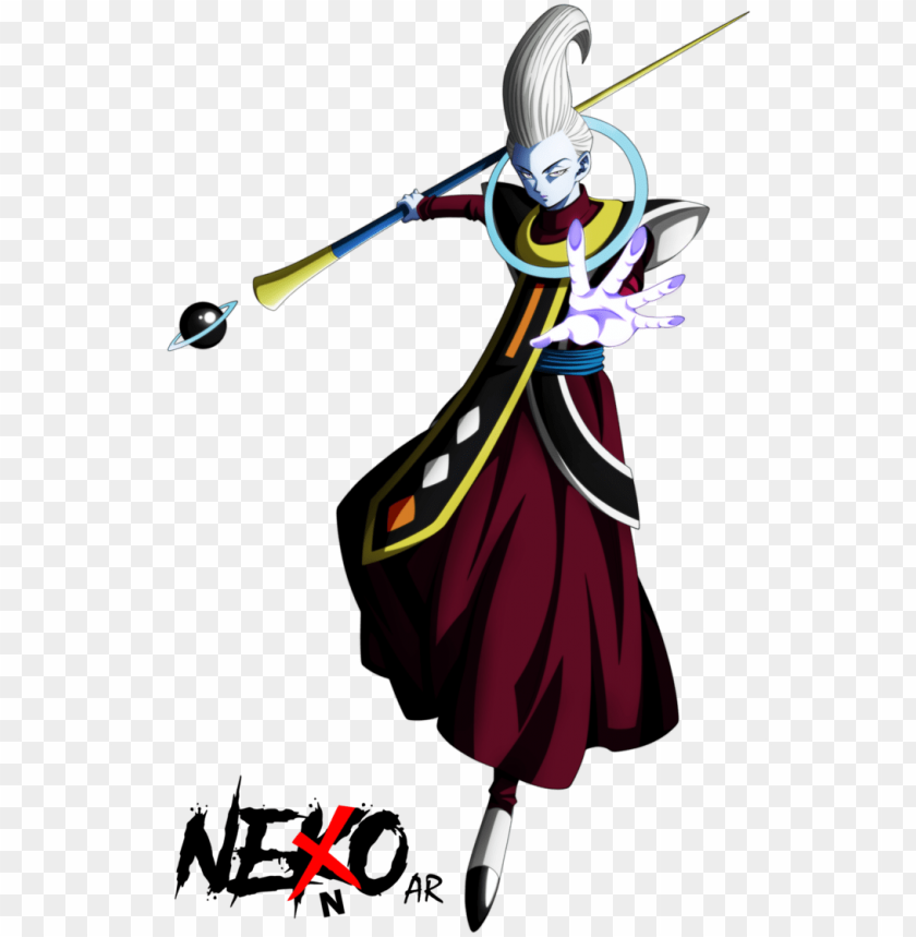 free PNG mastered ultra instinct whis by nekoar - dragon ball super power levels jire PNG image with transparent background PNG images transparent