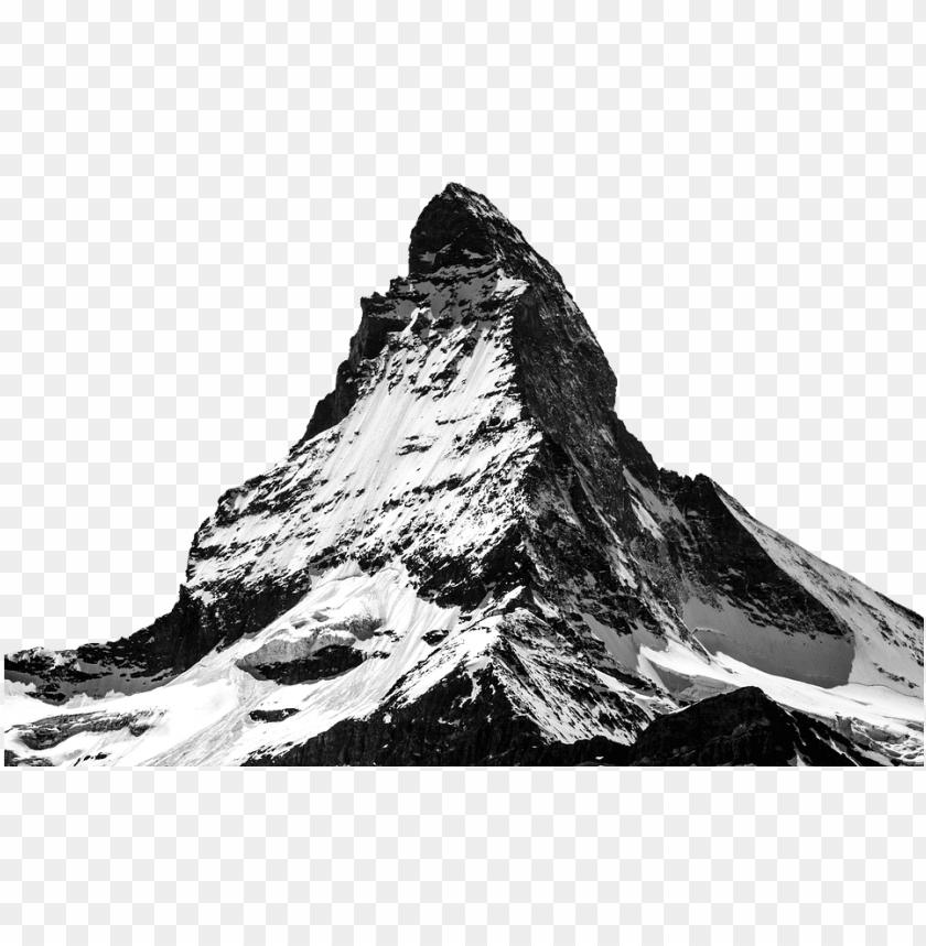free PNG matterhorn, snow, mountain, panorama, ice, nature - winter mountain transparent PNG image with transparent background PNG images transparent