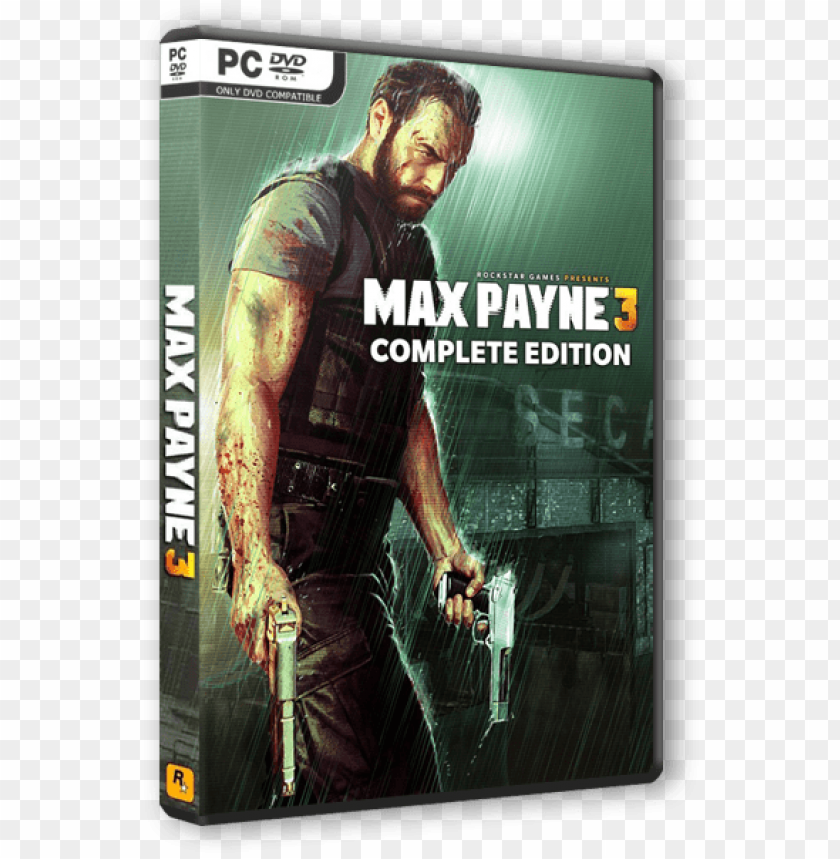 free PNG max payne 3 complete - rockstar games max payne 3 complete (pc) (digital download) PNG image with transparent background PNG images transparent