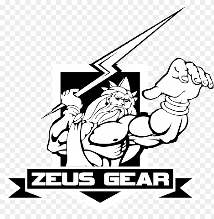 free PNG may your opponents feel the wrath of zeus - zeus logo PNG image with transparent background PNG images transparent