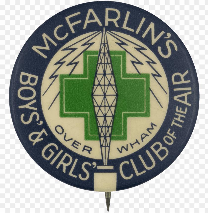 free PNG mcfarlins boys and girls club - emblem PNG image with transparent background PNG images transparent