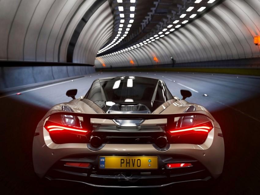 free PNG mclaren 720s, mclaren, car, sports car, tunnel background PNG images transparent