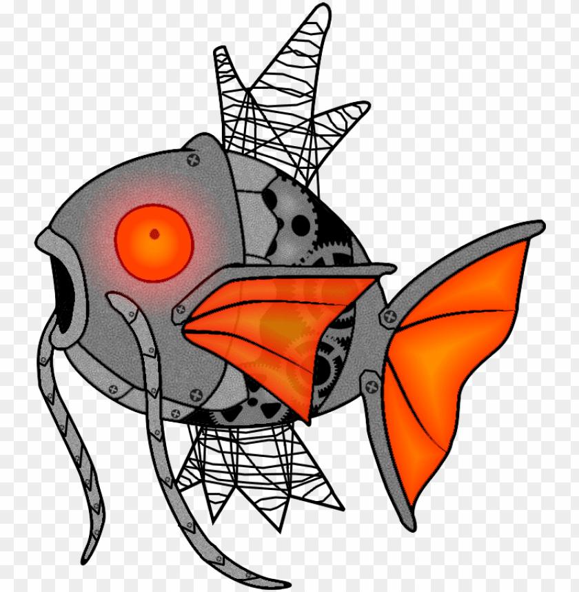 free PNG mechanikarp - cartoo PNG image with transparent background PNG images transparent