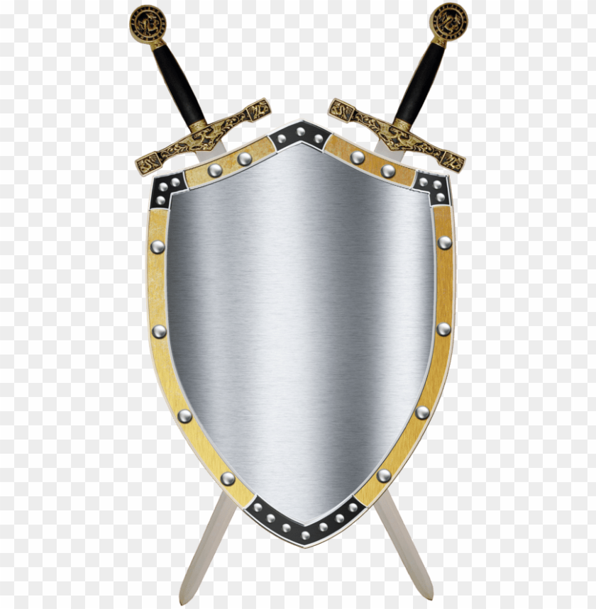 free PNG medieval sword and shield - middle ages shield and sword PNG image with transparent background PNG images transparent