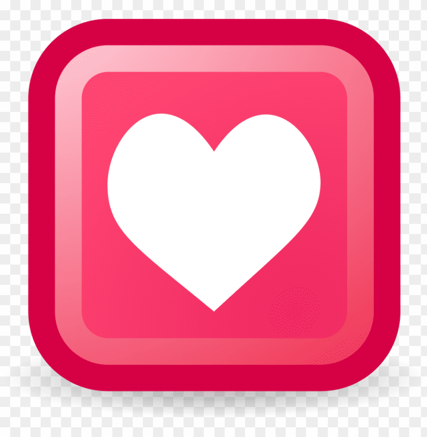 free PNG medium image - heart in square clipart PNG image with transparent background PNG images transparent