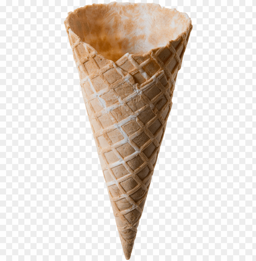 free PNG medium waffle cone - ice cream cone PNG image with transparent background PNG images transparent