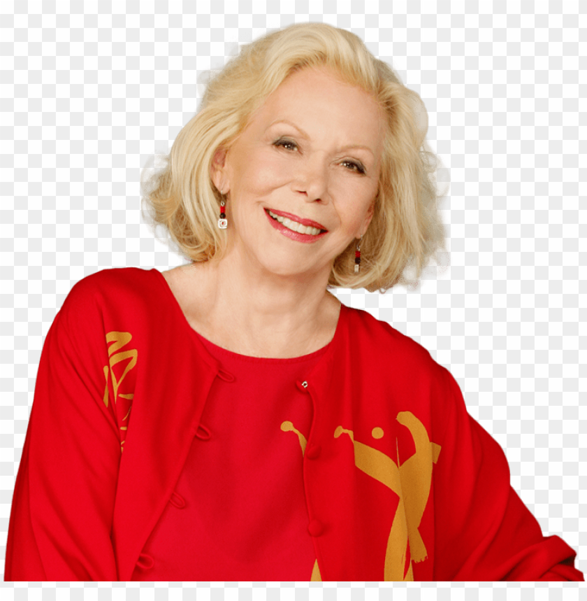 free PNG meet louise hay - louise l hay PNG image with transparent background PNG images transparent