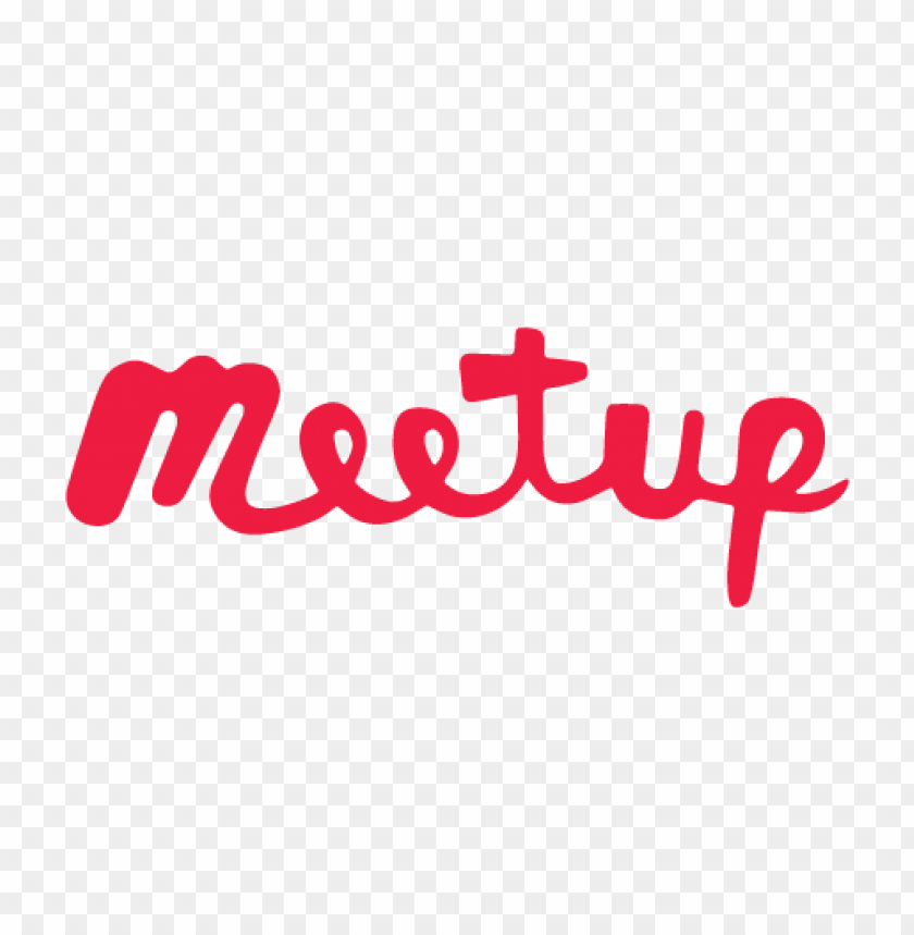 free PNG meetup logo (script) vector PNG images transparent