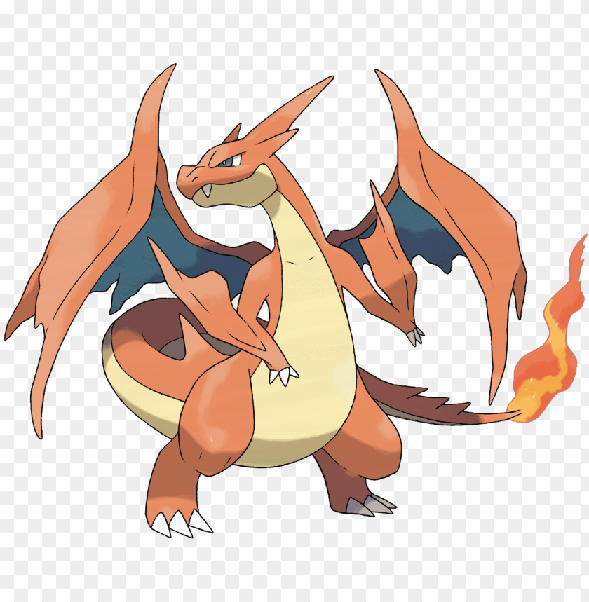 free PNG mega charizard y - pokemon y: guide & game walkthrough PNG image with transparent background PNG images transparent
